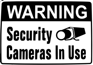 Warning-Security-Camera-in-Use